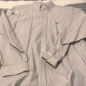 Excellent Ralph Lauren buttondown, 17-35